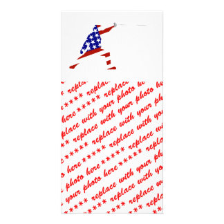 USA Fencing Fencer Personalized Photo Card