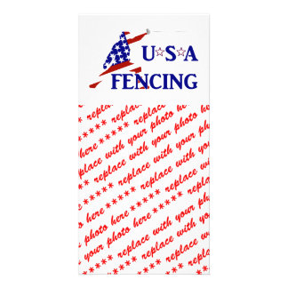 USA Fencing Picture Card