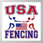 USA Fencing Print