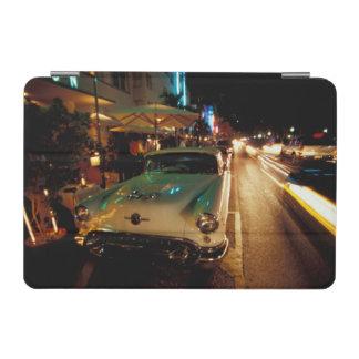 USA, FL, Miami, South Beach at night. 2 iPad Mini Cover