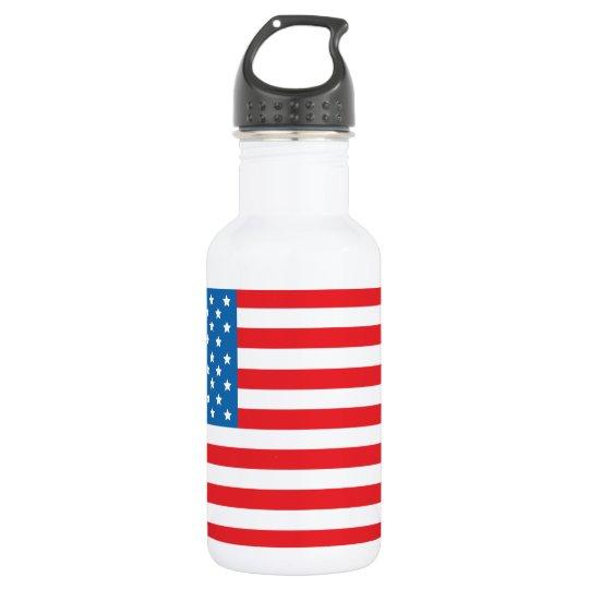 USA Flag1 532 Ml Water Bottle
