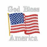USA Flag 1R GBA Embroidered Shirt