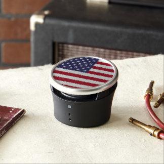 USA Flag American Patriotic Bumpster Speaker