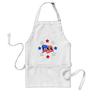 USA Flag and Stars Standard Apron