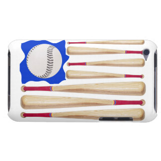 USA Flag Baseball Theme Barely There iPod Cover