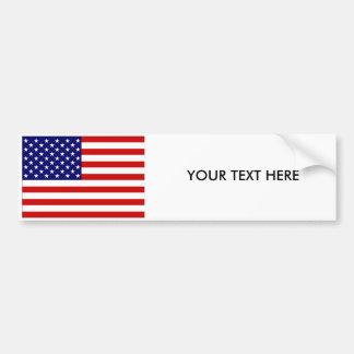 USA FLAG Bumper Sticker