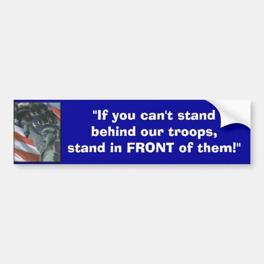 USA-Flag, Bumper Sticker