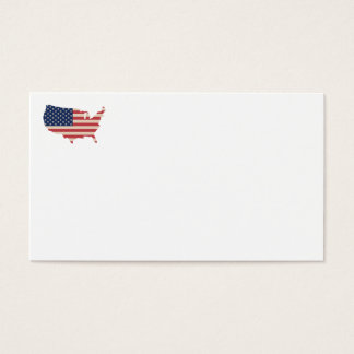Usa Flag  Business Cards