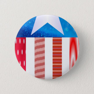 USA Flag Button