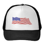 USA Flag Cap Trucker Hat