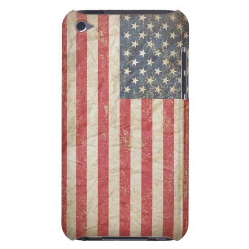USA Flag iPod Case-Mate Cases