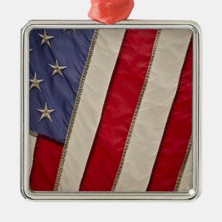 USA FLAG CHRISTMAS ORNAMENT