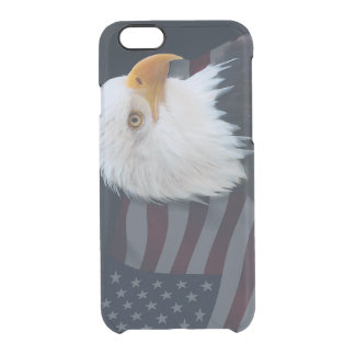 Usa flag clear iPhone 6/6S case