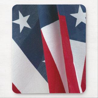 USA Flag Close Up Mousepad