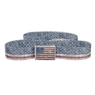USA Flag - Crinkled Belt