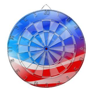 USA flag Dartboard