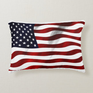 USA Flag Decorative Cushion
