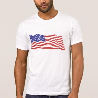 USA Flag Destroyed T-Shirt