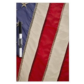 USA FLAG DRY ERASE BOARD