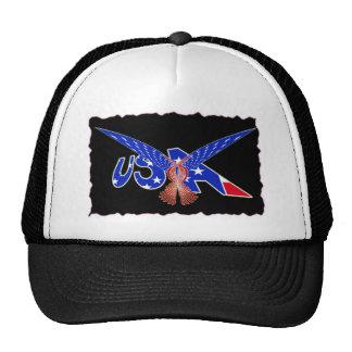USA FLAG EAGLE PHOENIX MESH HAT