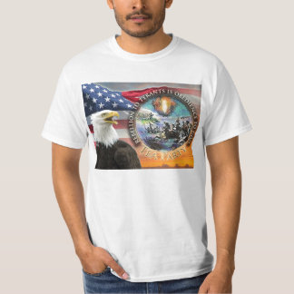 USA Flag Eagle Sunrise Tea Party Patriot Tee-Shirt T-Shirt