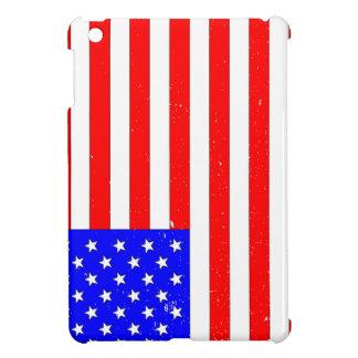 USA Flag Grunge iPad Mini Covers