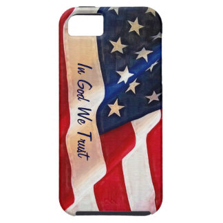 USA Flag - In God We Trust iPhone 5 Case