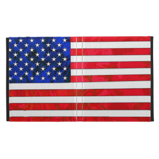 USA FLAG iPad Folio Case