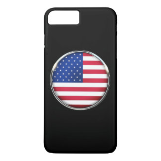 USA Flag iPhone X/8/7 Plus Barely There Case
