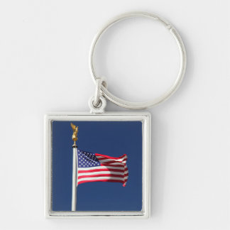 USA Flag Keychain