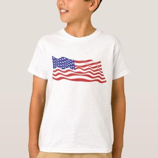 USA Flag Kids T-Shirt