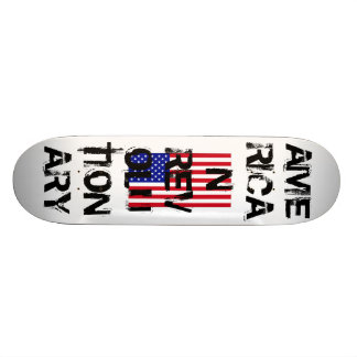 USA-Flag-Large AMERICAN REVOLUTIONARY Skate Board