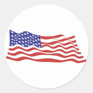 USA Flag Large Sticker Sheets