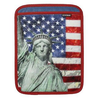 USA FLAG & LIBERTY iPad SLEEVE
