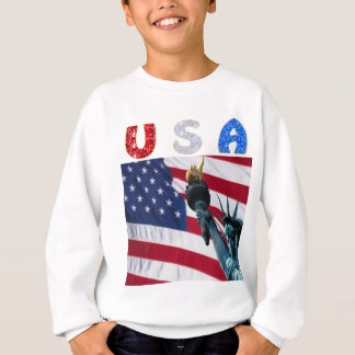 USA flag liberty Sweatshirt