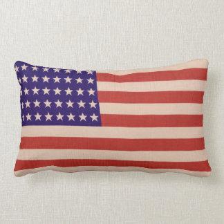 USA flag Lumbar Cushion