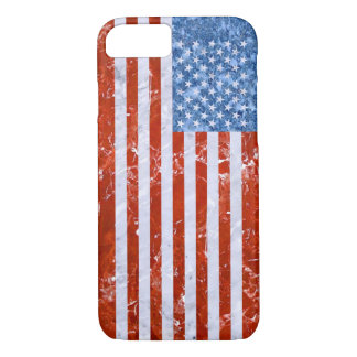 USA FLAG MARBLE iPhone 7 CASE