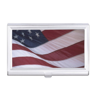 USA flag, North Carolina, USA Business Card Cases
