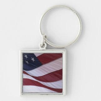 USA flag, North Carolina, USA Keychains