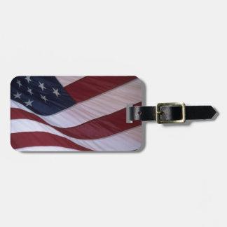 USA flag, North Carolina, USA Luggage Tag