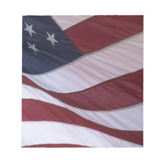 USA flag, North Carolina, USA Notepad