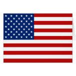 USA Flag Notecard Note Card