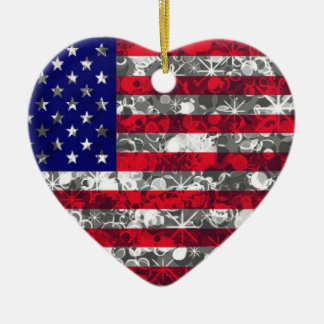 USA Flag ornament