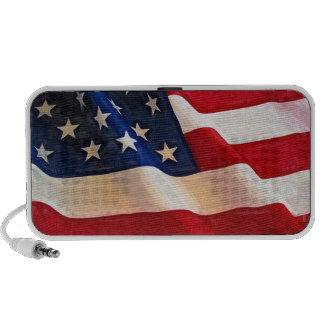 USA Flag - Patriotic American Laptop Speakers