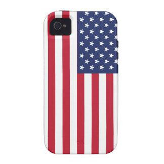 USA Flag Pattern. Perfect Patriotic Gift. American Case-Mate iPhone 4 Covers