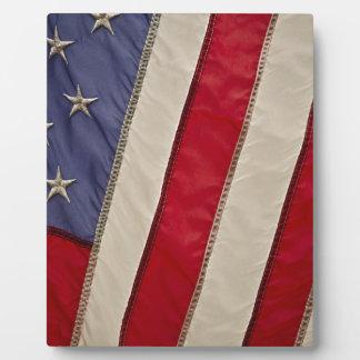 USA FLAG PHOTO PLAQUES