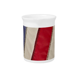 USA FLAG PITCHER