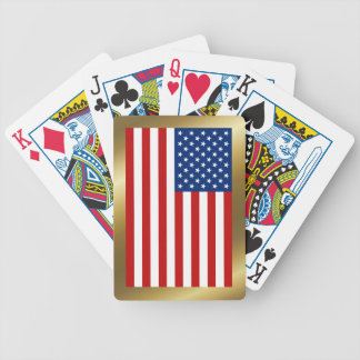 USA Flag Playing Cards
