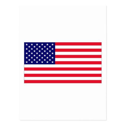 USA FLAG POST CARDS