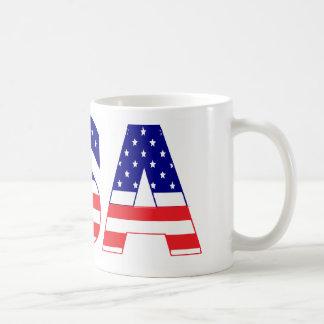 USA flag postage Coffee Mug